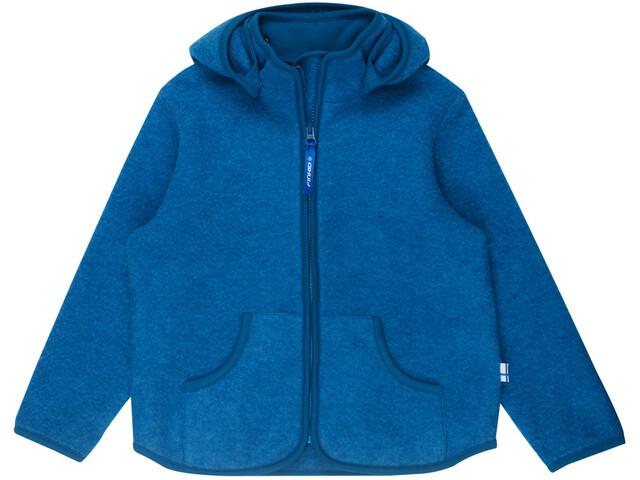 Finkid Tonttu Sport Wool Zip in Inner Jacket Barn seaport